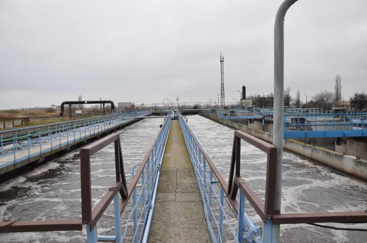 Очистные сооружения, г. Черноморск
