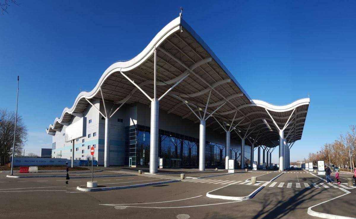 Терминал одесского аэропорта