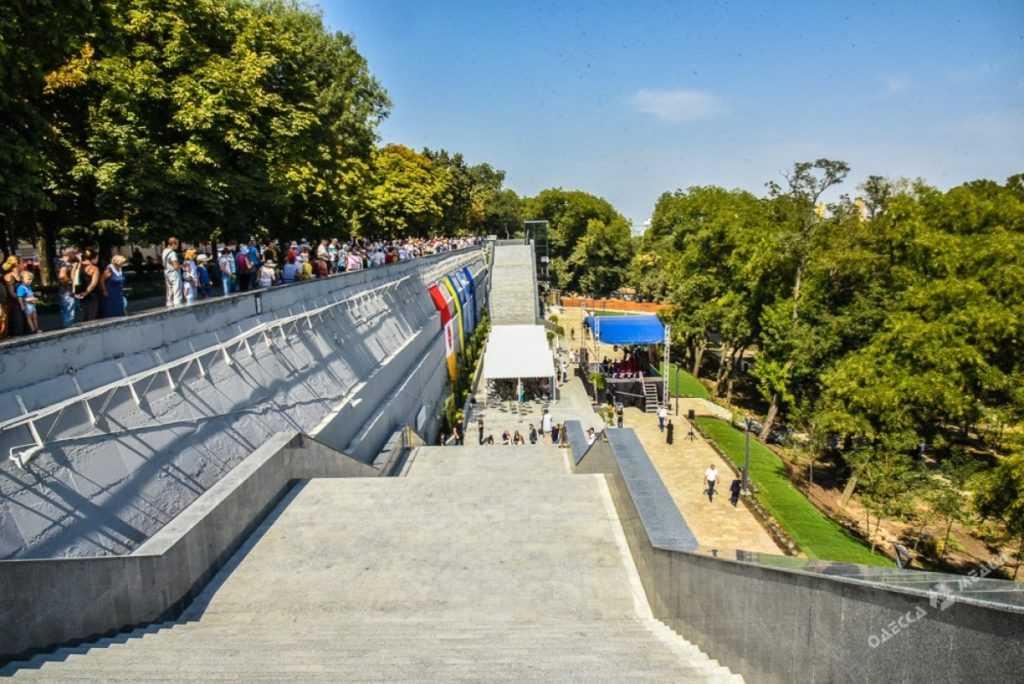 Греческий парк Одессы с Пенетроном